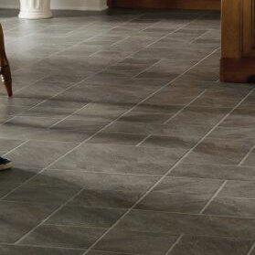 Castilian Block 16 X 48 8mm Tile Laminate Flooring In Pizarro
