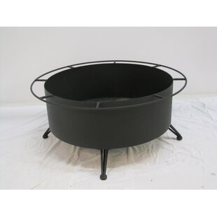 Meadowcraft Cove Cast Iron Charcoal Fire ..
