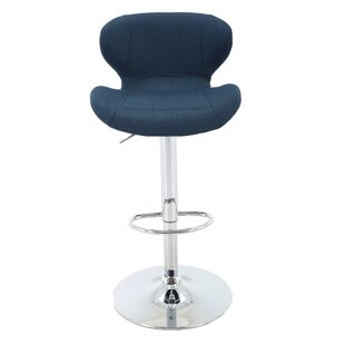 Aadhya Adjustable Height Swivel Bar Stool..