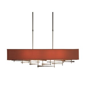 Cavaletti Linear 4-Light Kitchen Island Pendant