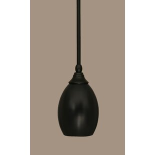 Weatherford 1-Light Mini Pendant by Winston Porter