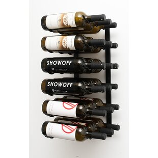 Review 18 Bottle Wall Mounted Wine Rack