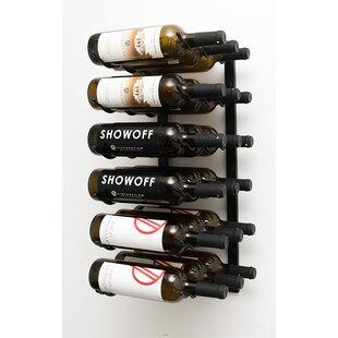 Buy Sale Price 18 Bottle Wall Mounted Wine Rack