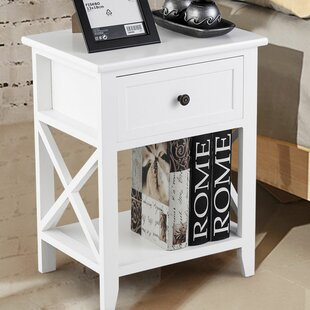 Kip 1 Drawer Nightstand by Highland Dunes