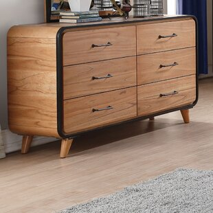 Great deal Carnamaddy 6 Drawer Double Dresser by Harriet Bee Reviews (2019) & Buyer's Guide