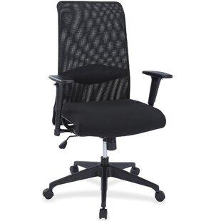 Lorell Synchro-Tilt High-Back Mesh Desk Chair
