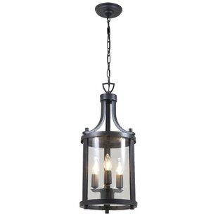 Reviews Niagara 3-Light Outdoor Hanging Lantern By DVI