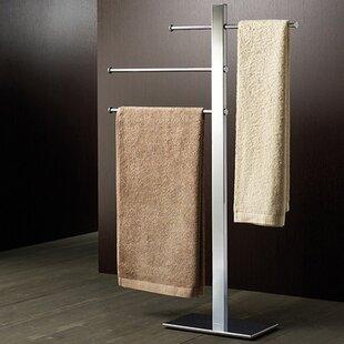 Bridge Sliding 3 Tier Free Standing Towel Stand