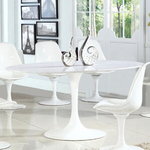 Marble White Kitchen Dining Tables Youll Love Wayfair