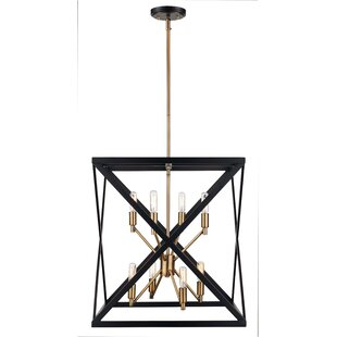 Brayden Studio Tanksley 8-Light Square/Rectangle Chandelier