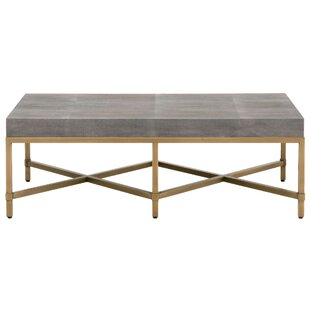 Compare prices Ormside Shagreen Coffee Table ByGracie Oaks