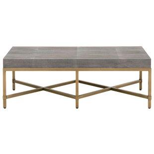 Big Save Ormside Shagreen Coffee Table ByGracie Oaks