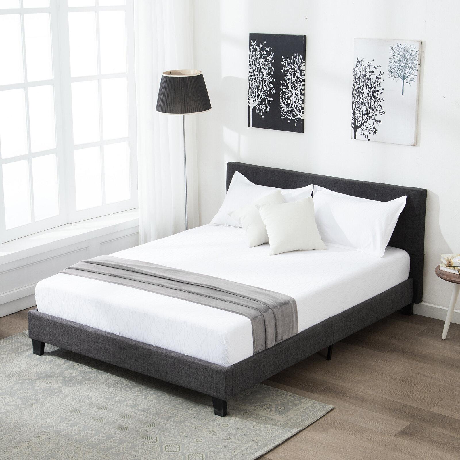 Lax Series Platform Bed moison upholstered platform bed