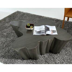 Orren Ellis Clower Modern Metal Coffee Table