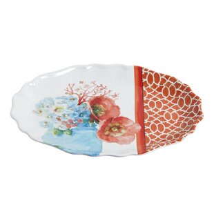 Melamine Lambright Bloom Oval Platter