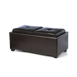 Dashner Tufted Storage Cocktail Ottoman by Darby Home Co