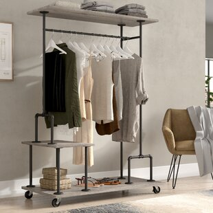 Nicola 47.25 W Clothes Rack by Williston Forge