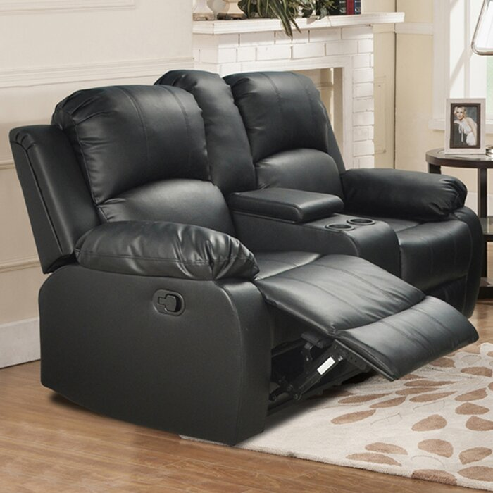 Tremendous Azariah Console Reclining Loveseat Pabps2019 Chair Design Images Pabps2019Com