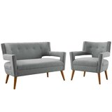 Spenser 2 Piece Living Room Set by Corrigan Studio®