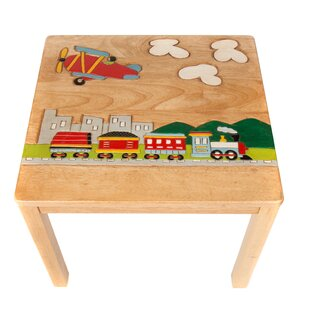 Train Children's Square Side Table By Just Kids