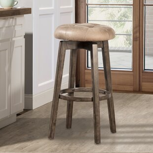 West Sacramento 26 Swivel Bar Stool by Loon Peak Salet