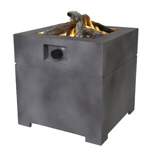 Lisa 60 Anthracite Polyresin Propane Fire Pit Image