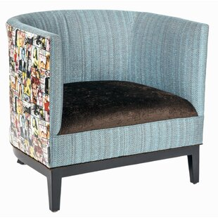 Lisa Barrel Chair by Loni M Designs