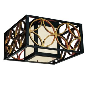 Eva 2-Light Outdoor Flush Mount