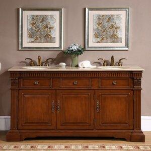 Windham 67″ Double Bathroom Vanity Set