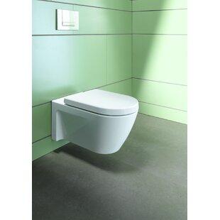 Duravit Starck Wall Mounted Washdown Dual Flush Elongated Toilet Bowl