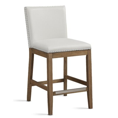 Sensational Charlton Home Framingham Counter 25 Inch Bar Stool Color Ivory Caraccident5 Cool Chair Designs And Ideas Caraccident5Info