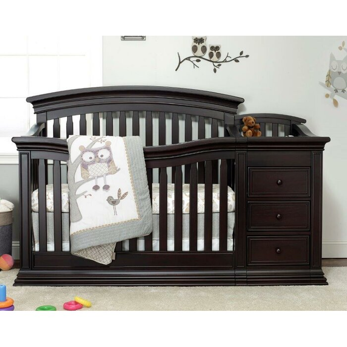 Sedona 4 In 1 Convertible Crib And Changer