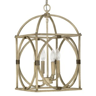 Taya 4-Light Lantern Pendant by Bay Isle ..