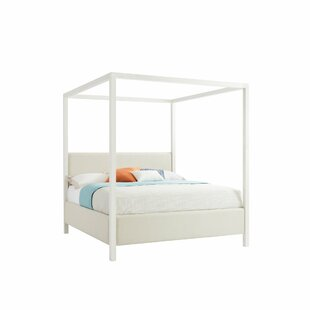Stanley Furniture Panavista Upholstered Canopy Bed