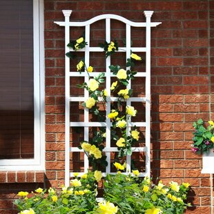 New England Arbors London Vinyl Lattice Panel Trellis