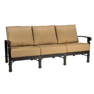 Spartan Patio Sofa by Woodard