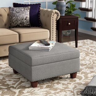 Dunston Storage Ottoman by Three Posts