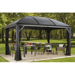 Charming Moreno Aluminum Patio Gazebo