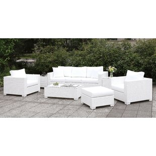Kuhn 5 Piece Sofa Seating Group with Cushions