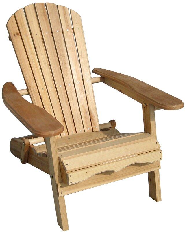 Nice Lissette Folding Adirondack Chair