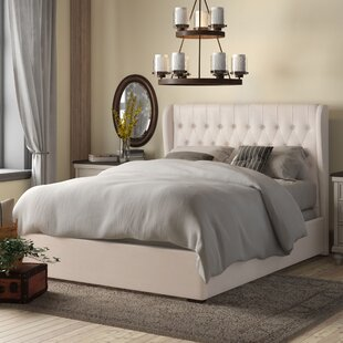 Sedgwick Queen Contemporary Wood Upholstered Storage Platform Bed