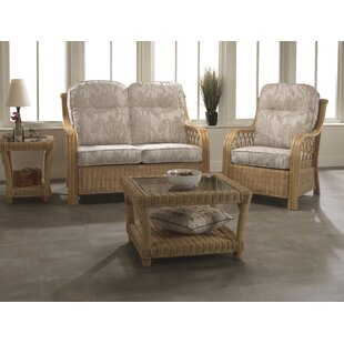 Mercedes 4 Piece Conservatory Sofa Set By Beachcrest Home