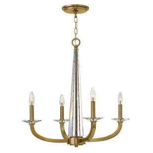 Hinkley Lighting Ascher 4-Light Candle-Style Chandelier
