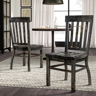 Ellenton Solid Wood Dining Chair (Set of 2) Greyleigh