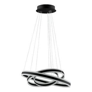 Sascha 3-Light Geometric LED Pendant by Orren Ellis
