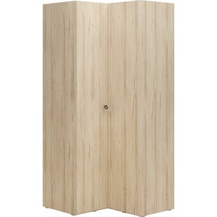 Giroux 2 Door Corner Wardrobe By Mercury Row