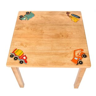 Construction Children's Square Side Table By Just Kids