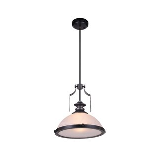 CWI Lighting Detti 1-Light Dome Pendant