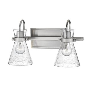 Great choice Amelie 2-Light Vanity Light By Highland Dunes