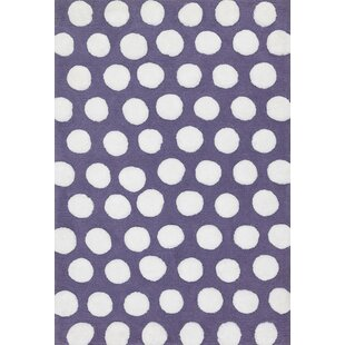 Compare Broder Plum/White Area Rug ByHarriet Bee